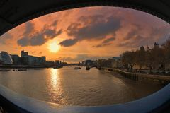 глаз london s моста стоковые фотографии rf