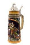 глиняная кружка немца пива стоковая фотография rf