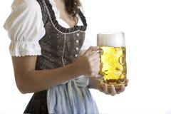 глиняная кружка пива массовая oktoberfest Стоковые Изображения
