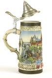 глиняная кружка пива Стоковое фото RF