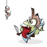 глист рыб Иллюстрация штока