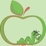 глист яблока Стоковые Фото