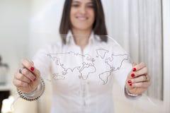 глобализация дела Стоковое Изображение RF