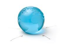 глобализация Стоковая Фотография
