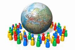 глобализация иллюстрация вектора