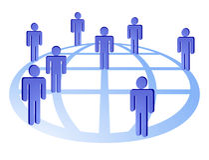 глобальная вычислительная сеть присоединенного филиала Стоковая Фотография RF