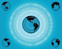 глобальная вычислительная сеть Стоковое Изображение