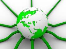 глобальная вычислительная сеть Стоковые Фото