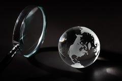 Глобальное исследование Стоковое Изображение RF