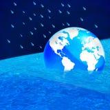 глобальное потепление принципиальной схемы иллюстрация штока