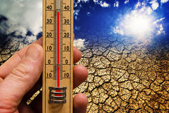 глобальное потепление Стоковая Фотография RF