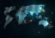 Глобальные технологии средств массовой информации стоковые фотографии rf