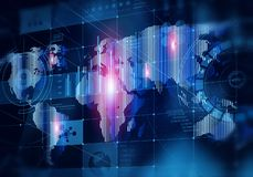 Глобальные технологии средств массовой информации стоковые фото
