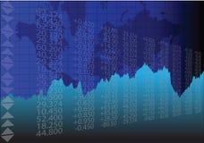 Глобальный торговый рынок Стоковое Изображение
