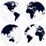 глобусы земли бесплатная иллюстрация