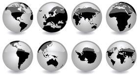 глобусы лоснистые Стоковое Изображение RF