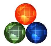 глобусы Стоковое Изображение