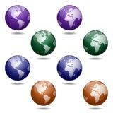 Глобусы Стоковые Изображения RF