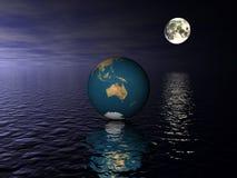 глобус Австралии Стоковое фото RF