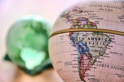глобус америки южный Стоковая Фотография