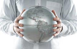 глобус америки Стоковые Фото