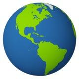 глобус америки Стоковое Изображение RF