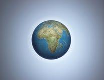 глобус Африки стоковая фотография
