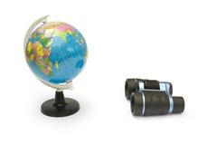 глобус биноклей Стоковое Изображение