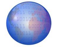 глобус данных Стоковые Фото