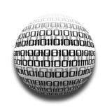 глобус данных иллюстрация вектора