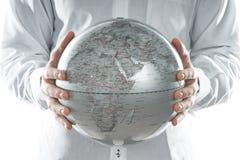 глобус европы Иллюстрация штока