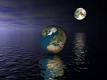 глобус европы Стоковые Фотографии RF