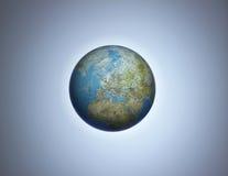 глобус европы стоковые изображения rf