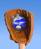 глобус задвижки стоковое изображение