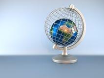глобус земли плена Стоковое Изображение RF