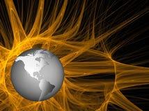 Глобус земли стоковое изображение