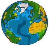 глобус земли Стоковая Фотография