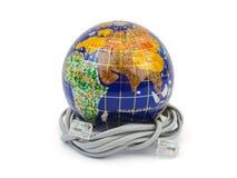 глобус кабеля Стоковое Фото
