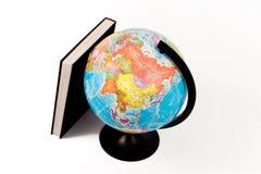 глобус книги Стоковые Фотографии RF