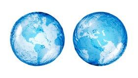 Глобус, конспект Стоковая Фотография RF