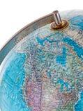 глобус крупного плана Стоковые Фото
