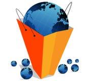 глобус мешка Стоковое Изображение RF