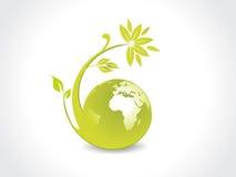 глобус окружающей среды Стоковые Изображения RF