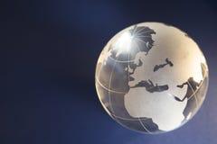 глобус предпосылки Стоковые Изображения