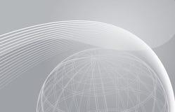 глобус предпосылки иллюстрация штока