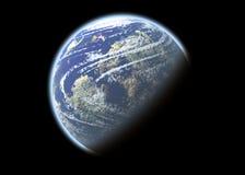 глобус принципиальной схемы Стоковые Фотографии RF