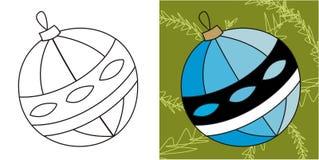 глобус рождества бесплатная иллюстрация