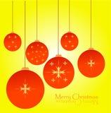 Глобус рождества Стоковое Фото