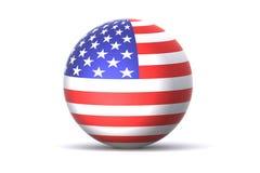 глобус США Стоковое Изображение