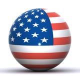 глобус США Стоковые Фотографии RF